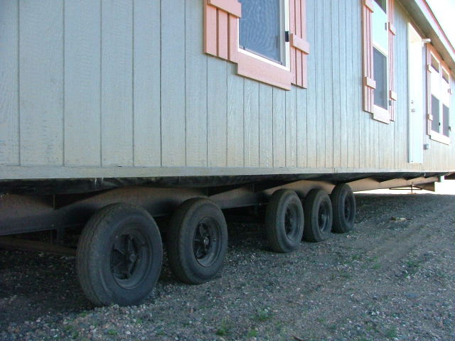 Mobile Home Trailer Frame